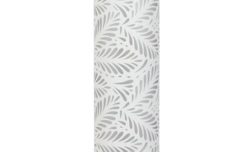 Argos Home Cut Out Leaf Column Floor Lamp - White