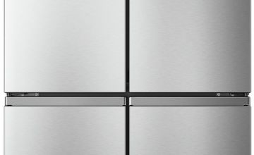 Hisense RQ563N4AI1 American Fridge Freezer - Grey
