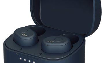 JVC HA-A10T-A-U In-Ear True Wireless Earbuds - Blue