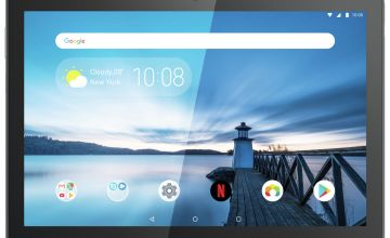 Lenovo Tab M10 10.1in 32GB FHD Tablet - Black