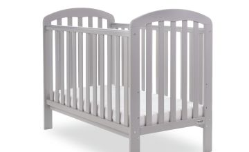 Obaby Lily Baby Cot - Warm Grey