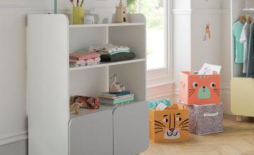 Argos Home Milo Double Storage Unit - Grey