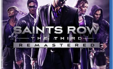 Saints Row:  The Third Remastered PS4 Game