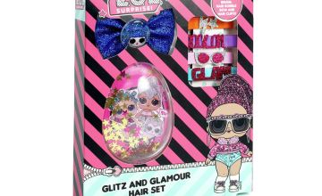 LOL Surprise Glitz and Glam Hair Set