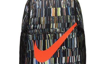 Nike Brasilia Pattern 18L Backpack - Black and Crimson