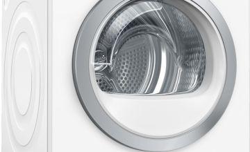Bosch WTWH7660GB 9KG Heat Pump Tumble Dryer - White