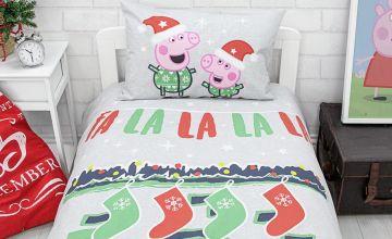 Peppa Pig Fa La La La La Bedding Set