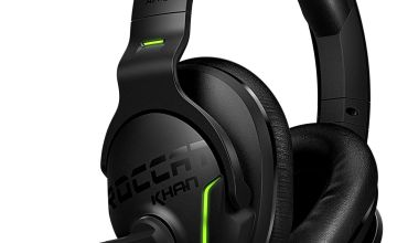 Roccat Khan Aimo PRO 7.1 Surround Sound PC Headset - Black