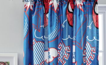Marvel Spider-Man Unlined Pencil Pleat Curtains