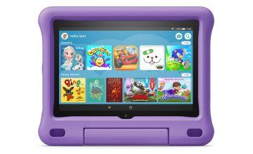 Amazon Fire HD 8 Inch Kids Edition Tablet & Case - Purple