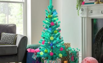 Argos Home 4ft Christmas Tree - Blue