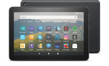 Amazon Fire HD 8 Inch 64GB Tablet - Black