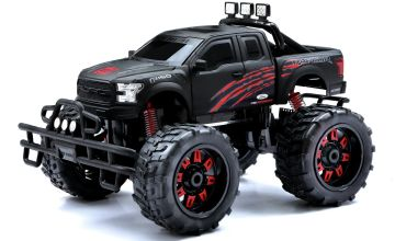 New Bright Radio Controlled 1:10 Raptor - Black