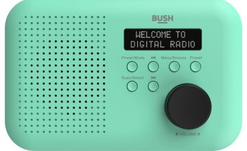 Bush Portable Mono DAB Radio - Mint