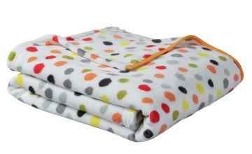 Argos Home Multicoloured Spot Fleece