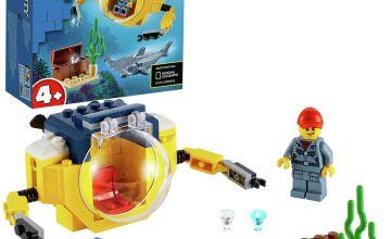 LEGO City 4+ Ocean Mini-Submarine Deep Sea Set - 60263