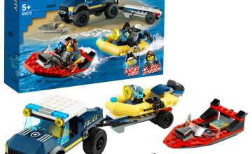 LEGO City Elite Police Boat Transport Toy 60272