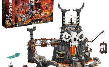 LEGO Ninjago Skull Sorcerer's Dungeons Board Game Set- 71722