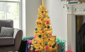 Argos Home 4ft Christmas Tree - Yellow