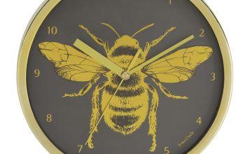 Jones Clocks Bee Wall Clock