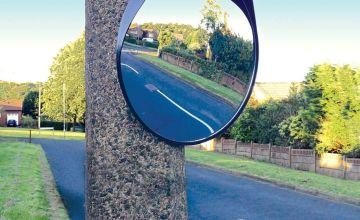 Streetwize 40cm Convex Mirror.