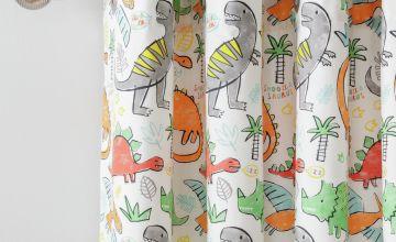 Argos Home Dinosaur Fully Lined Eyelet Curtains