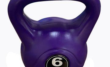Opti Vinyl Kettlebell 6kg - Purple