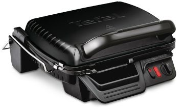 Tefal GC308840l Ultra Compact 6 Portion 3 in 1 Grill