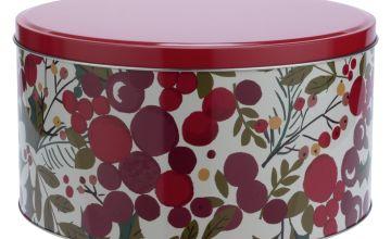 Argos Home Berry Round Cake Tin