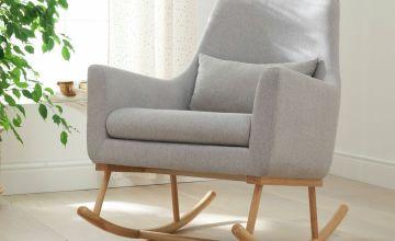 Oscar Rocking Chair - Pebble Grey