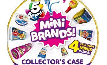 Zuru 5 Surprise Mini Brand Collectors Case