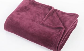 Argos Home Super Soft Fleece Throw