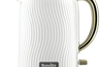 Breville VKT185 Flow Kettle - White and Gold
