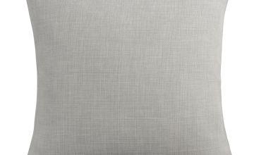 Argos Home Cushion Cover - Grey