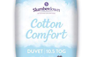 Slumberdown Cotton Comfort 10.5 Tog Duvet