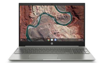 HP 15.6in Pentium Gold 4GB 64GB FHD Chromebook -White/Silver