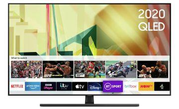Samsung 65 Inch QE65Q70TATXXU Smart 4K UHD QLED Freeview TV