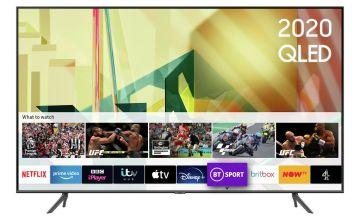 Samsung 85 Inch QE85Q70TATXXU Smart 4K UHD QLED Freeview TV
