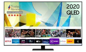 Samsung 65 Inch QE65Q80TATXXU Smart 4K UHD QLED TV