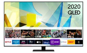Samsung 49In QE49Q80TATXXU Smart 4K UHD QLED Freeview TV