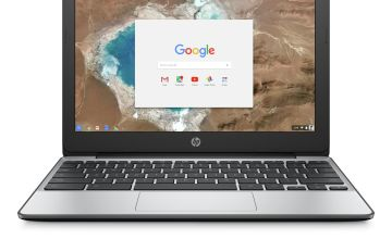 HP 11.6in Celeron 4GB 16GB Chromebook - Grey