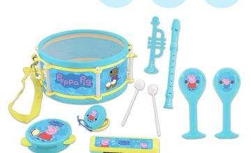 Peppa Pig Musical Set of 7 Instruments