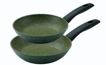 Prestige Eco Twin Pack 20cm and 24cm Frying Pans
