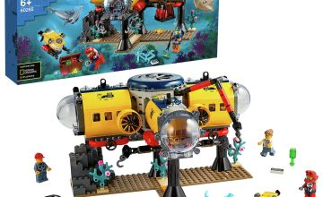LEGO City Ocean Exploration Base Underwater Set - 60265