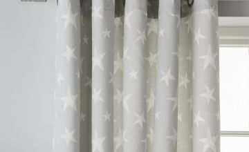 Argos Home Star Fully Lined Eyelet Curtains