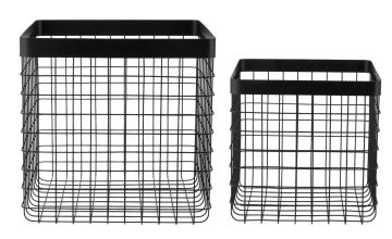 Argos Home Loft Living Wire Storage Baskets