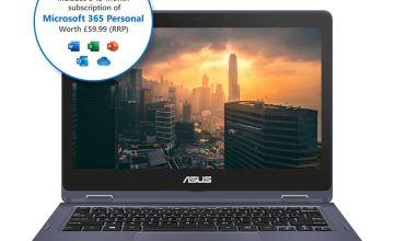 ASUS VivoBook Flip 12 11.6in Celeron 4GB 64GB Cloudbook
