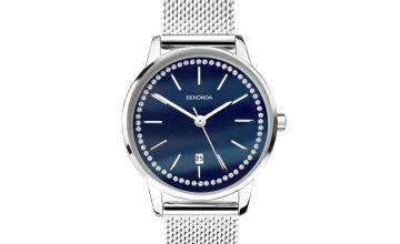 Sekonda Ladies Stainless Steel Bracelet Watch