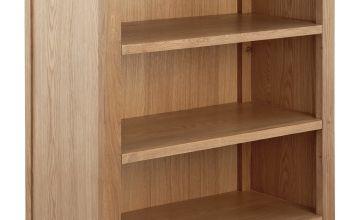 Argos Home Islington 2 Shelf Oak Veneer Bookcase
