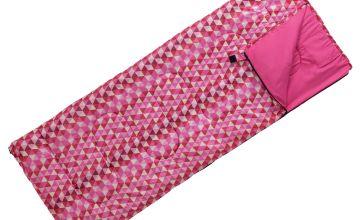 ProAction 300GSM Sleeping Bag - Aztec Pink